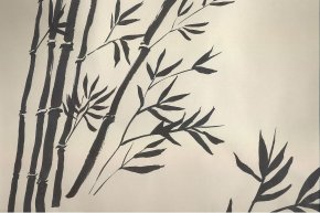 Sumi-e Japanese Ink: Painting the Bamboo Forest