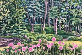 Watercolor Weekends: Underpainting and Glazing