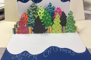 Holiday Pop-Up Cards 9-12