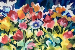 Watercolor Weekends: Color Choices in Watercolor