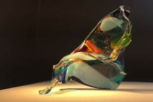 Notes from the ecopsychological expressive art work-bench: hot glass fusion